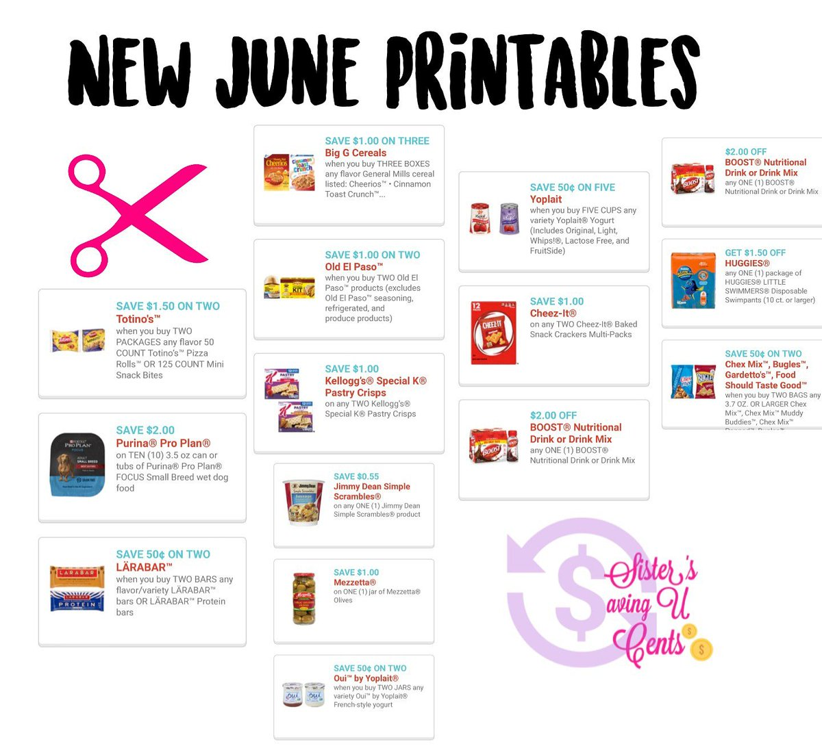 graphic about Boost Printable Coupons identify newprintables hashtag upon Twitter