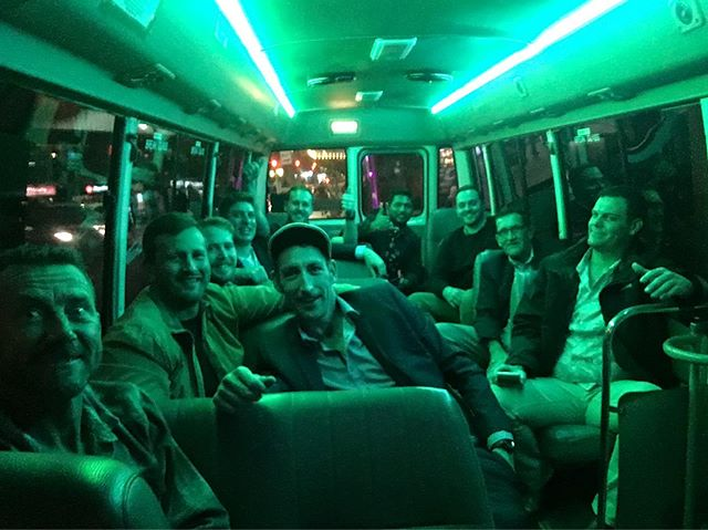 Ricky's #fun Group #partyshuttle @bondibowlo #bondibowl #bondi to #kingscrosshotel #kingscross @kxhotel @getloose.com.au #greatday #greatnightout #partytime #greatnights #sydney #corporate #party 21 seater #bus #sydneylocal #partyshuttlebus #partybus… Book on 0450060055pic.twitter.com/7TjeGJ3UVF