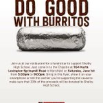 Image for the Tweet beginning: Eat at Chipotle today from