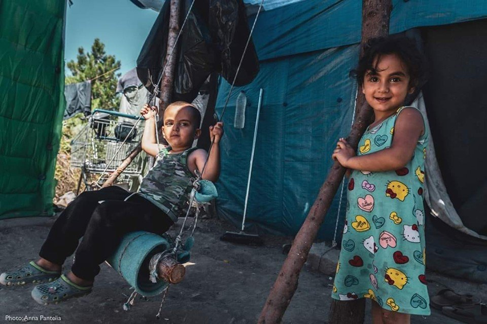 Sebastiano Nino Fezza On Twitter Samos Greece May 2019 Photographer Anna Pantelia Documents Daily Life In The Refugee Camp In The Island Of Samos 35 Of People Living In Vathy Camp In