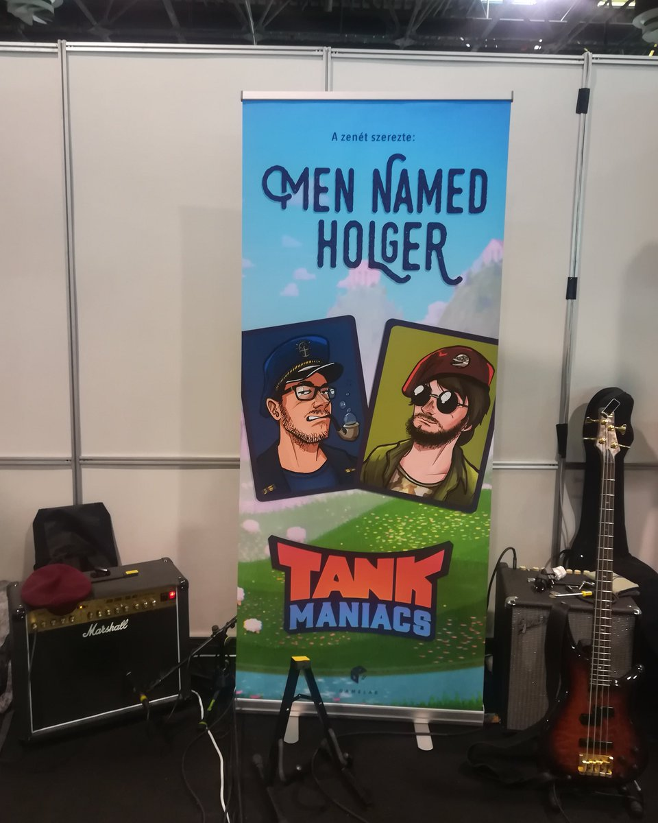 Playing some #gamemusic live  at #playitbudapest  @TankManiacs #livemusic . . . #tankmaniacs #gamemusic #gameost #gamedev #GameAudio #videogame #couchpartygame #indiedevstudio #indiedevhour #indiegamedev #videojáték #videojatek #indiedev #music #indiemusic #indiegamepic.twitter.com/9l2xtTu9uW