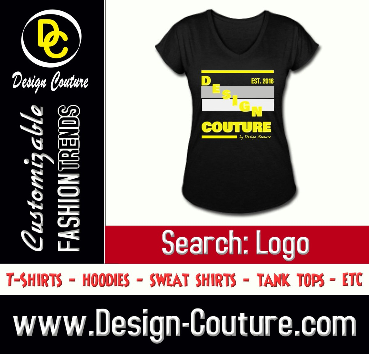 Make a Bold Fashion Statement with Design Couture Customizable Fashion Trends and More.  Design: Design Couture Search: Logo https://t.co/zE8vru9O9E ———————————————————- Order yours today. ———————————————————- New Designs Uploaded Daily! ———————————————————- https://t.co/odyzRvu82U