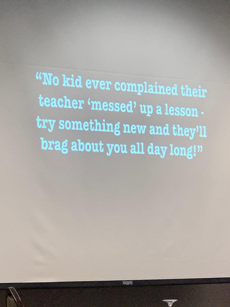 """@mradamwelcome """"Get over it"""" - """"talk their language"""" #KidsDeserveIt #vestalhills"""