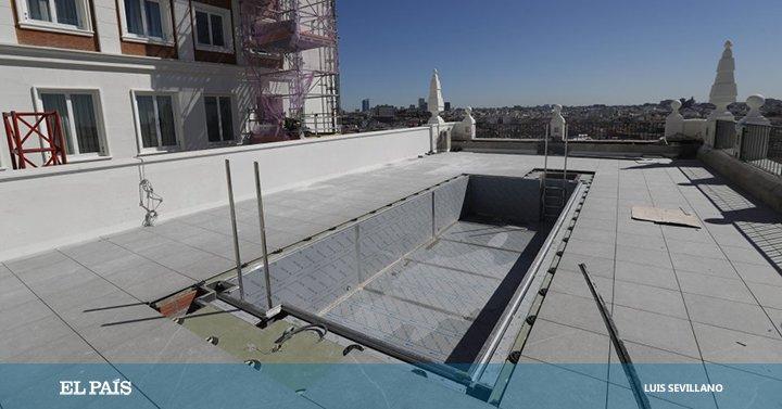 Fotos Azotea Edificio España Vistas Madrid Establecimiento