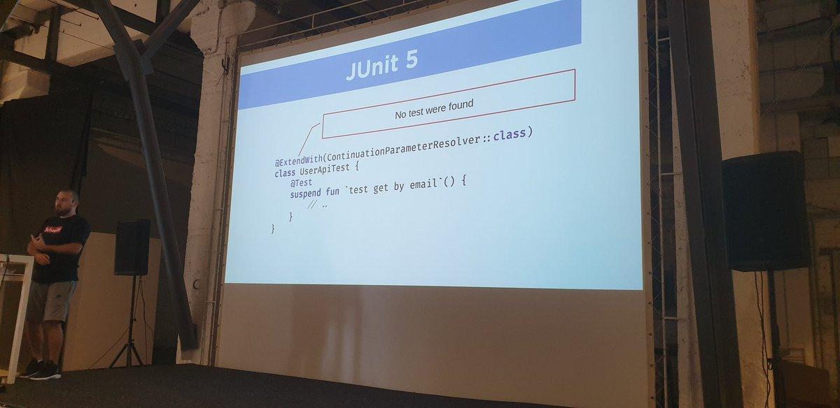 junit5 hashtag on Twitter