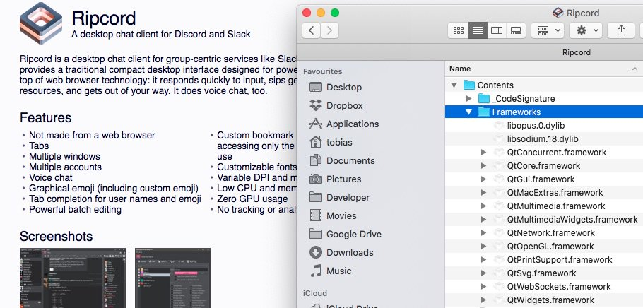 Tobias Timpe On Twitter Oh Finally A Native Discord App For Mac Ehhm What