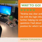 Image for the Tweet beginning: Way to Go, Andrea! #EmployeeShoutout