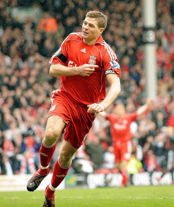 Happy birthday, captain fantastic.  My legend, Steven Gerrard.