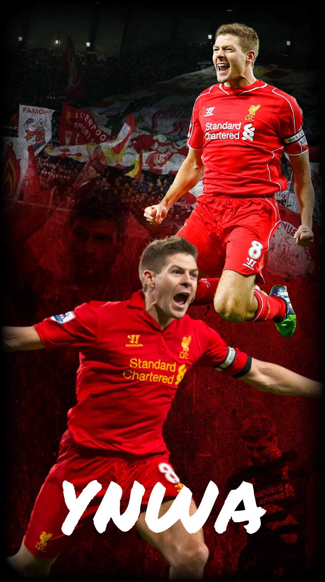 Happy Birthday to my favourite player of all time Steven Gerrard YNWA