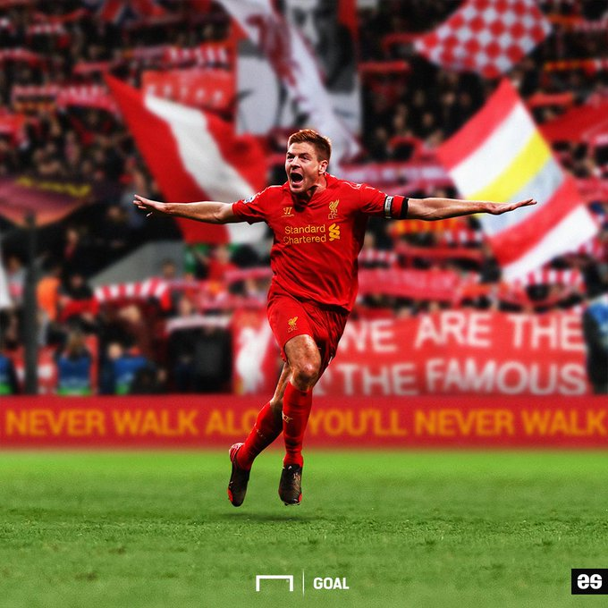 Happy 39th birthday Steven Gerrard!