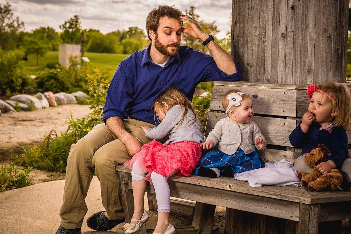 Прикольные картинки с 3 детьми