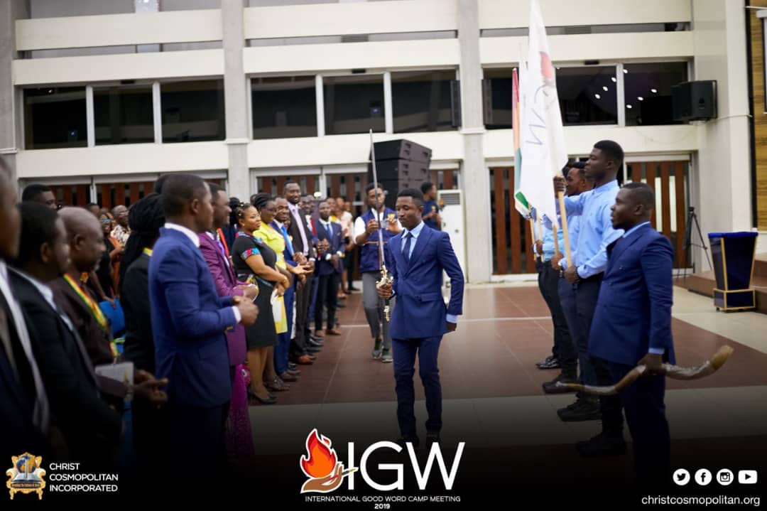 The flushes of excitement at the appearance of the man of God @thepastorobed. This year's event is surely going to be a memorable one😀. The heat eeeerh😱😱😱. Catch the fire🔥  #IGWC2019 #GrandOpening2019 #TheCCIExperience #knust #StayTunedHere👇