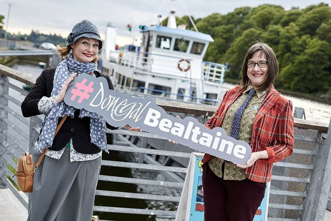"""'Mystery Bag' should come with a hazard warning. Audience faces/sides 'sore from laughing' today, Twin Town's Library Stranorlar. It is interactive storytelling craic for all ages & events #bealtaine2019 """"excellent entertainment"""", """"I haven't laughed as much in years"""", """"not wise"""""""