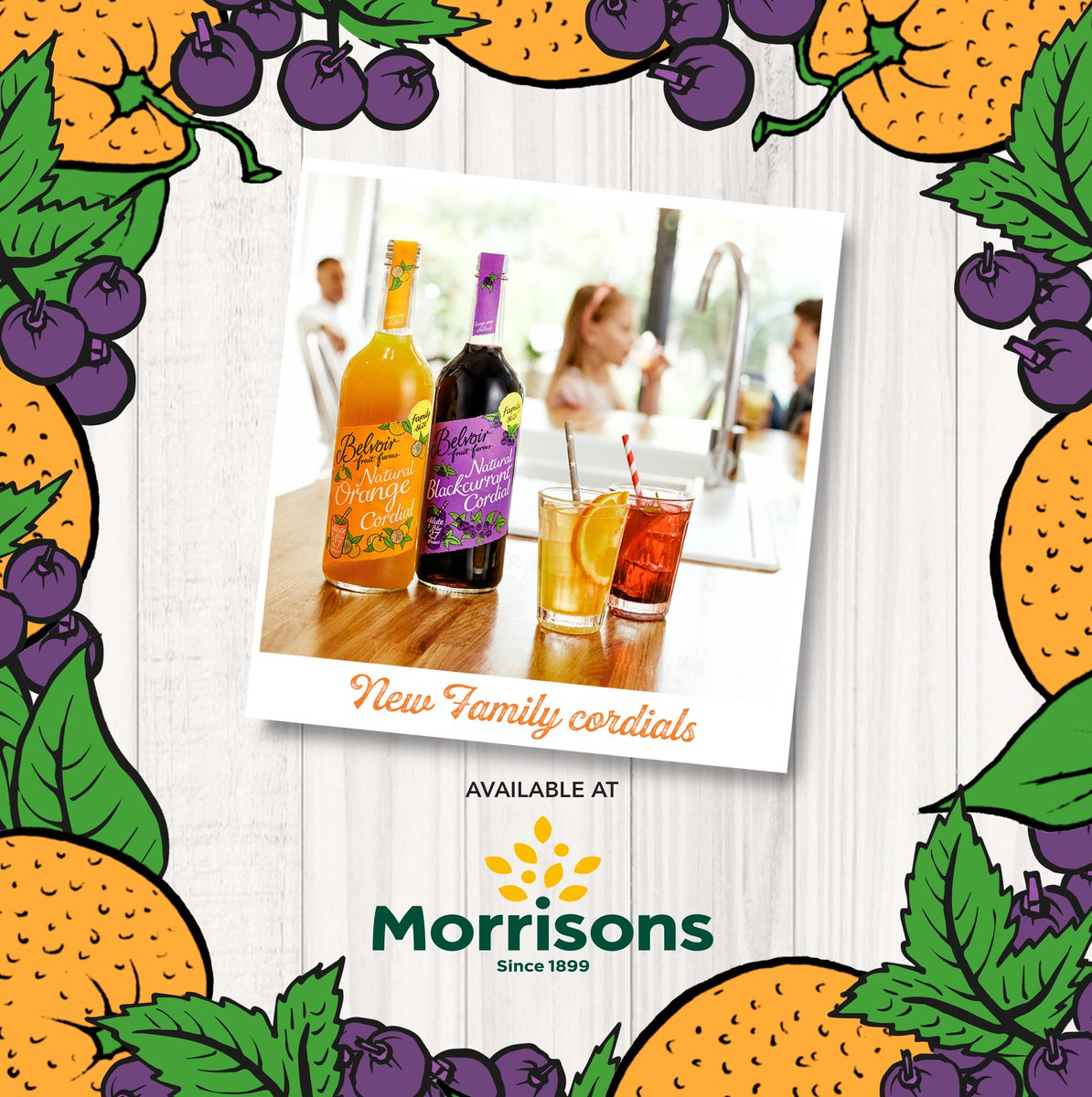 Writing your shopping list for this weekends food shop? Have you spied our NEW Family Size traditional Orange and Blackcurrant Cordials? They are available in @Morrisons now! https://t.co/T3fd9IeZHm