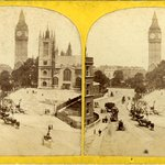 Image for the Tweet beginning: A stereoview of St Margaret's