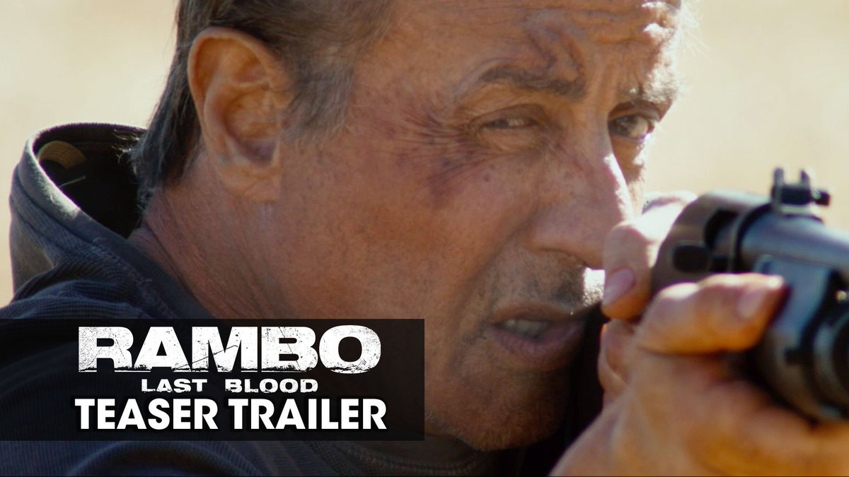 They drew first blood. He will draw last. #Rambo Last Blood – In theaters September 20.