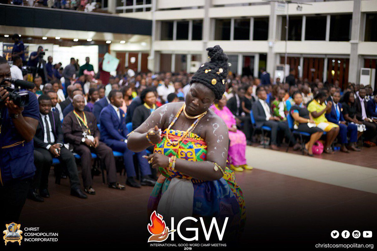 Culture is golden!💛 Culture is beautiful in it's dynamics! It was enthralling at the Grand opening as we embraced culture from different countries.  #IGWC2019  #GrandOpeningIGWC2019  #TheCCIExperience  #CultureIsGolden #Knust