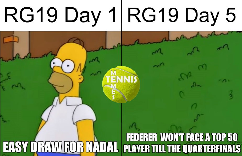 Tennis Memes On Twitter Fedfans Right Now Rolandgarros Rg19