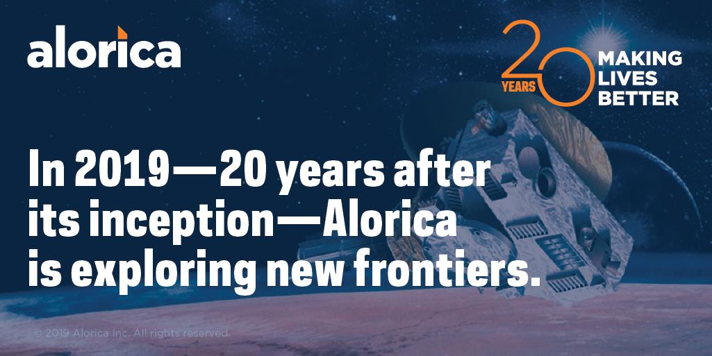 On January 1, 2019, NASA's New Horizons spacecraft made a fly-by of Ultima Thule—humanity's farthest encounter with a distant object. This, as Alorica continues to boldly go where no customer service provider has gone before. #AloricaTurns20 https://t.co/315kpmqBua