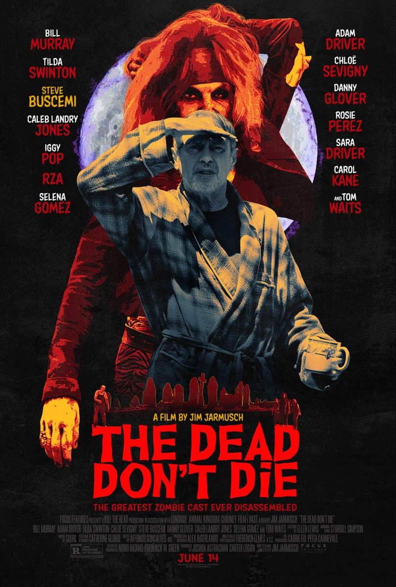 On June 14th, let the end times roll. Tickets for #TheDeadDontDie are on sale now! http://thedeaddontdietickets.com