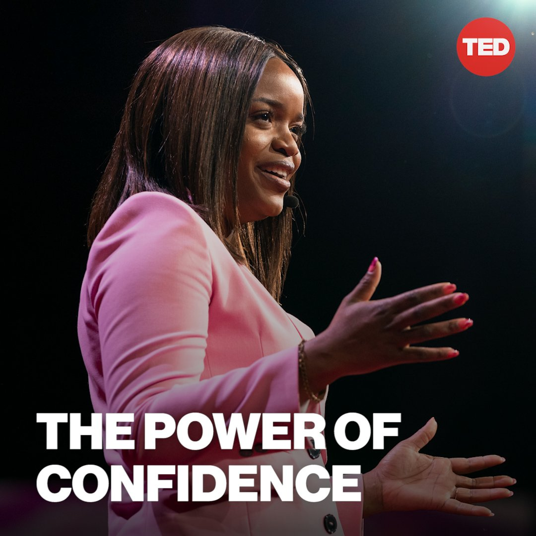 """Confidence is a revolutionary choice, and it would be our greatest shame to see our best ideas go unrealized and our brightest dreams go unreached all because we lacked the engine of confidence."" @MsPackyettiWatch her full TED Talk here: http://t.ted.com/nefV5VW"