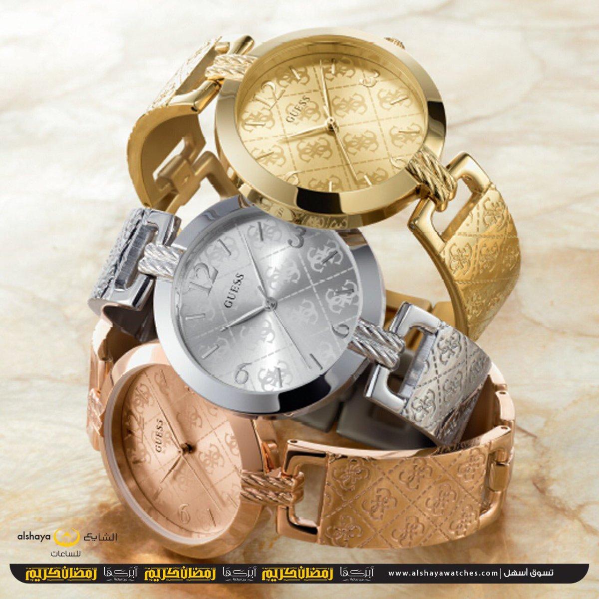 e56530657 مجموعة #ساعات من GUESS صنعت ليدك بمثالية و دقة بالغة ، اختاري لك من هذه  المجموعة ما يناسب #وقتك و اجذب الأنظار لك بقطعتك الجديدة من رمز #الموضة .