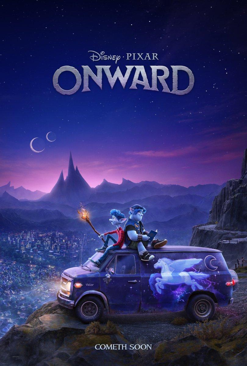 RT @pixaronward: Get your first look at Disney and Pixar's Onward tonight during the NBA Finals. #PixarOnward https://t.co/UUJ2oDXwE4