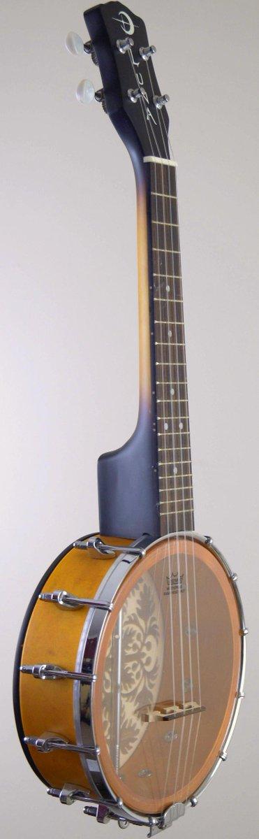 Armadillo luna 8 inch banjo ukulele