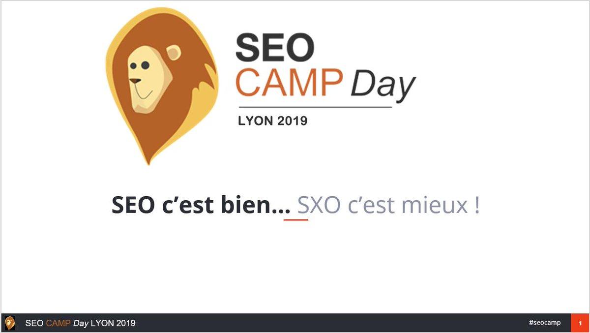 #SEO c'est bien... #SXO c'est mieux ! J'ai mis les slides de ma conférence au @seocamp Lyon en ligne. Elles sont disponibles ici en consultation et en téléchargement : https://t.co/PvMgcL4GRG #seocamp #SEOCampLyon  cc @Yakiseo https://t.co/kYUyro5IDb