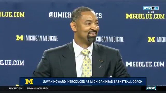 What does @JuwanHoward consider his biggest accomplishment in life so far? Getting a degree from @UMich.  (🎥: @MichiganOnBTN)