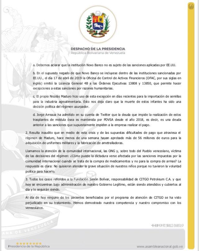 0f6c87803 ... en evidencia años de corrupción e incapacidad. Haremos todo lo que esté  en nuestras manos para atender a los venezolanos.pic.twitter.com TcetWJ2ipC