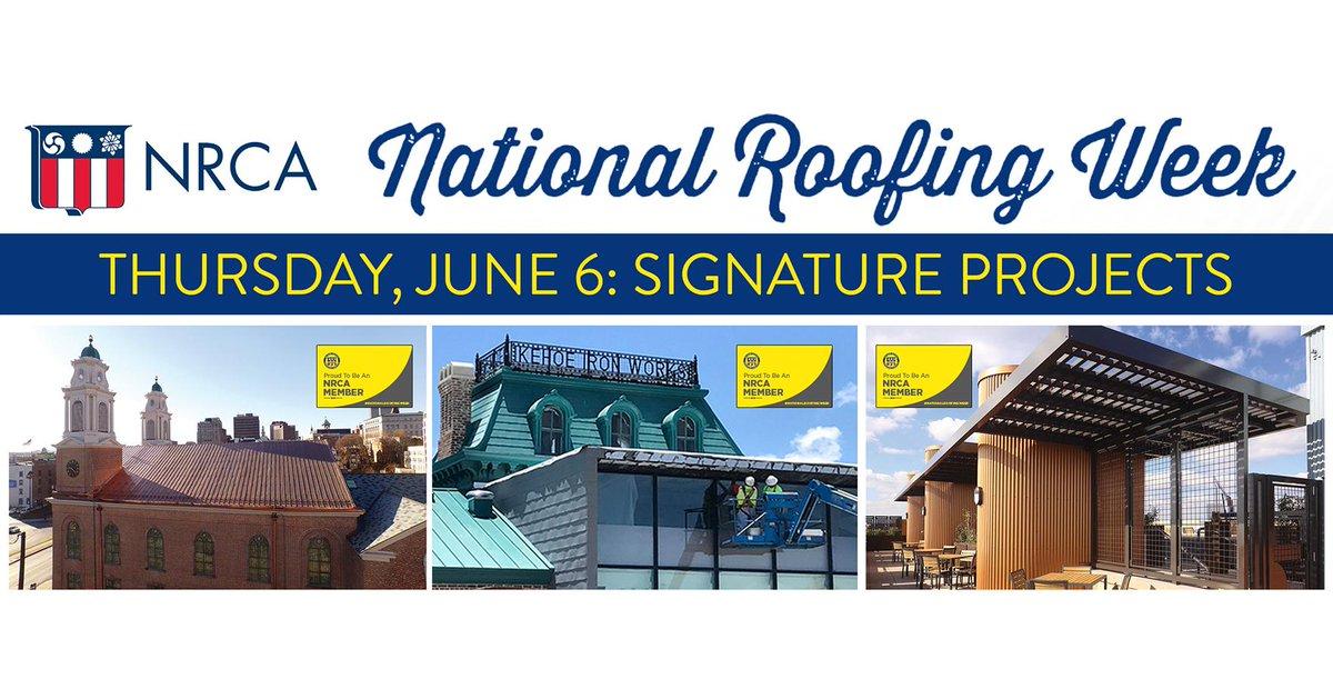 National Roofing Week 2019