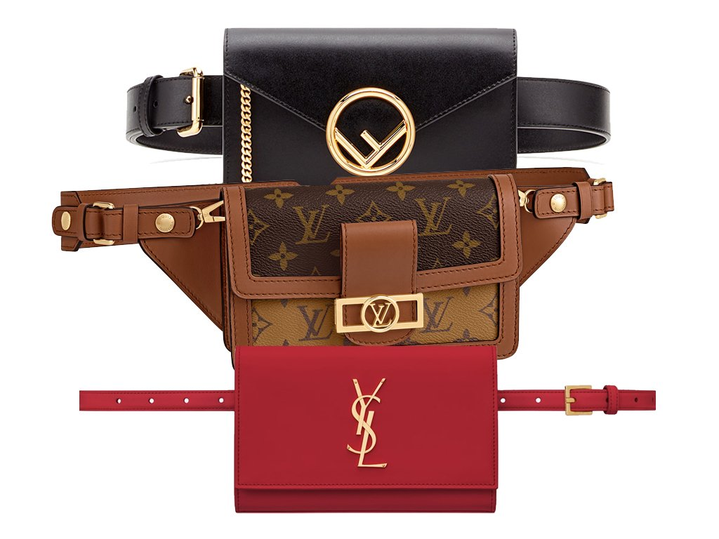 517886971 Bagaholicboy knows if you can't beat them, join them. Designer belt bags