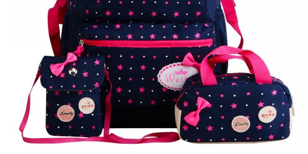 3cc408c22dca ... Iskola táska, hátizsák cipzáras, mérsékelten vízálló, könnyű,