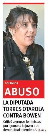 #Chubut  @CHECHU0405 viene luchando casi en Soledad. Lo que quedó en clara evidencia, es que la justa lucha feminista en #Chubut esta contaminada por intereses políticos. Éstos grupos de presión intentan la #Invisibilización de la víctima. #DobleMoral #hipocresía  #PameYoSiTeCreo