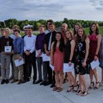 Image for the Tweet beginning: Shelby spring athletes honored at