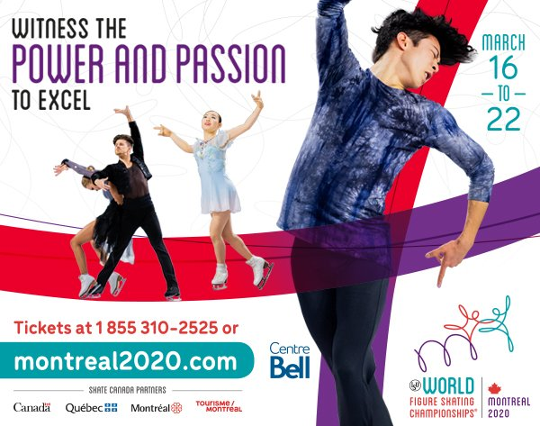 Hey we know that guy!   Don't miss #WorldFigure in North America next March! Buy your tickets for #Montreal2020 today   https:// montreal2020.com /     <br>http://pic.twitter.com/ZMzY9R7Cld