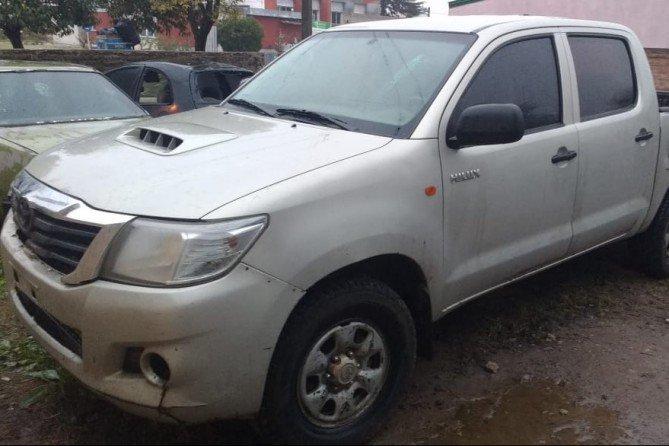 #Región | #Caleufú: Secuestraron una camioneta que tenía pedido de secuestro en provincia de Buenos Aires