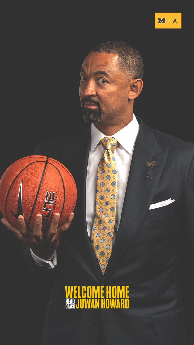 RT @UMichAthletics: A new era begins.   #GoBlue @JuwanHoward https://t.co/F07o4M1jim