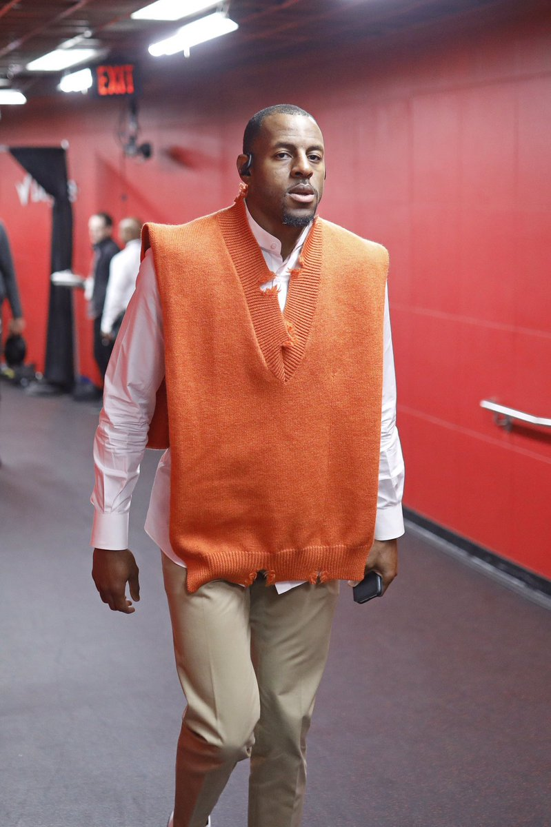Andre Iguodala's Outfit Before Game 1 Of The NBA Finals Is Going Viral