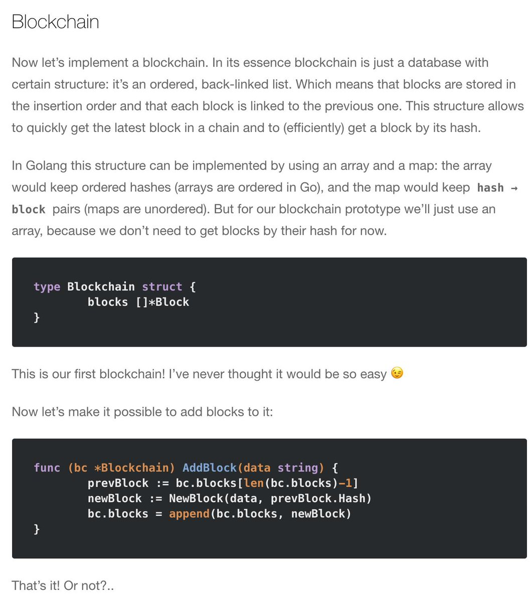 db24b3cad السورس كود كامل: https://github.com/Jeiwan/blockchain_go …pic.twitter .com/g387JcDEI0