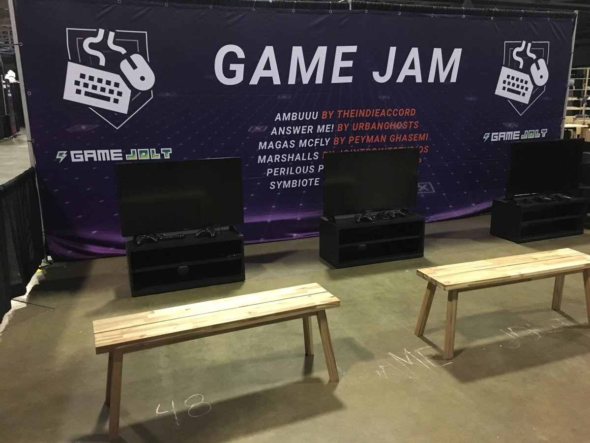 Game Jolt Dreamhack Booth
