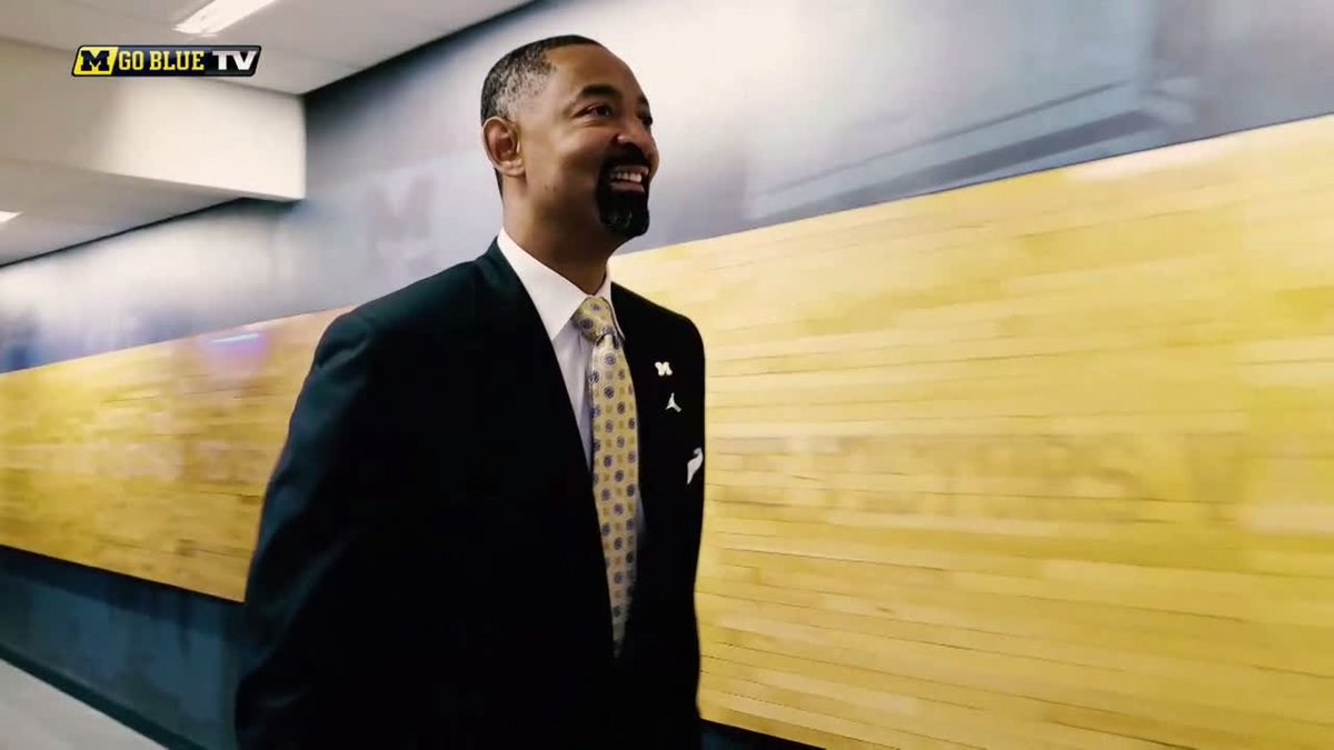 RT @umichbball: It's Go Time.   @JuwanHoward's first day on the job is in the books.   #GoBlue x #WelcomeHomeJuwan https://t.co/B6YRc5edtg