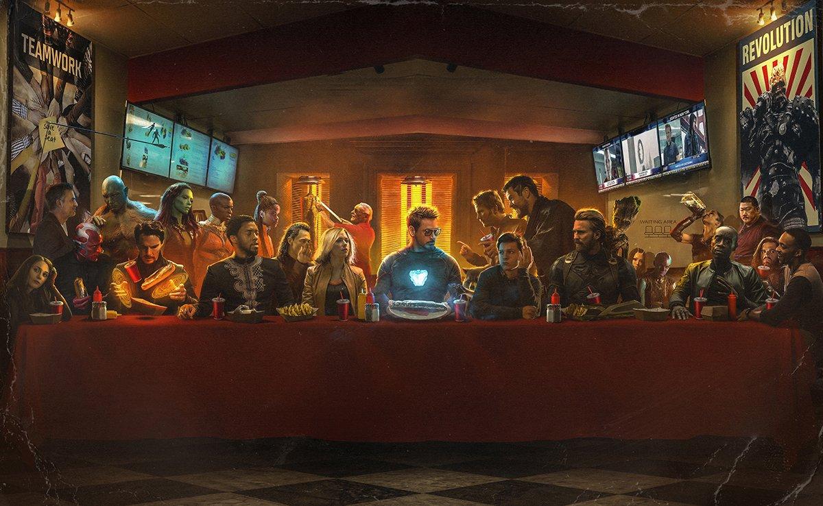 The Last Shawarma timeline #avengersendgame #avengers @Russo_Brothers