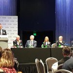 Image for the Tweet beginning: Mark Glazbrook at CEDA -