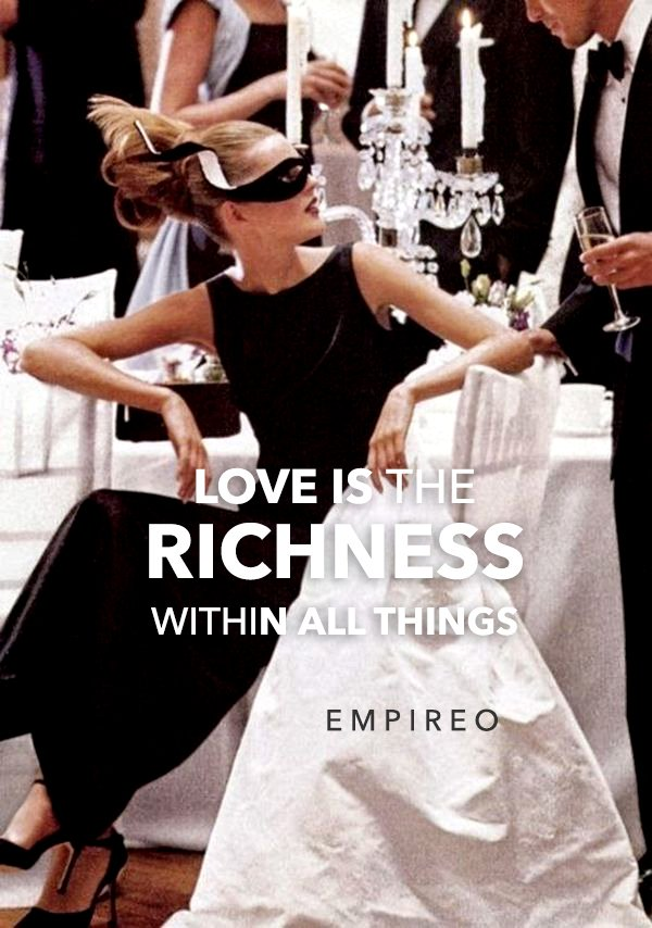 """#LOVE is the #RICHNESS within all things.  """"QUANTUM LEAP TO MILLIONAIRE""""💰💎 ▶️ I want to know more about the program https://empireoquantumleap.com/  #MILLIONAIREMINDSET #LUXURYLIFE #ENRICHYOURMID"""