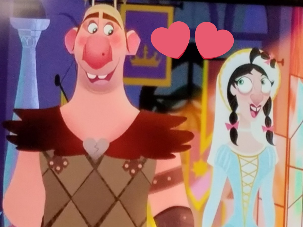 Rapunzel S Tangled Adventure On Twitter Friedborg Might Not Have A Traditional Look But I Am Sure She Is Very Nice I Hope We See Her Have A Happy Ending With Bignose At