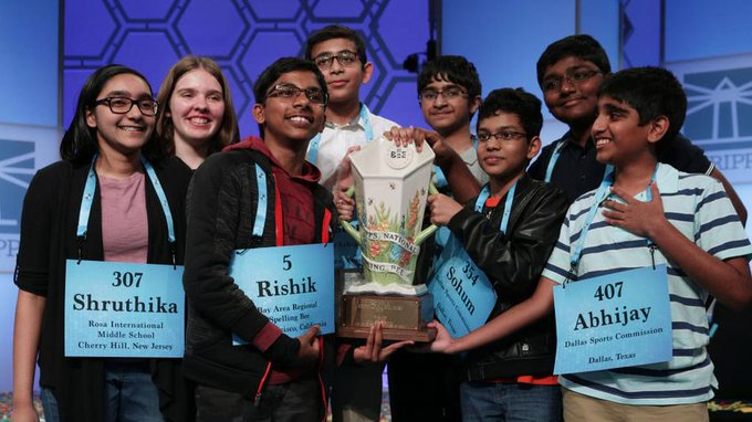 National Spelling Bee, Odisha Girl Shruthika Padhy Wins US National Spelling Bee As The Judges Simply Ran Out Of Words