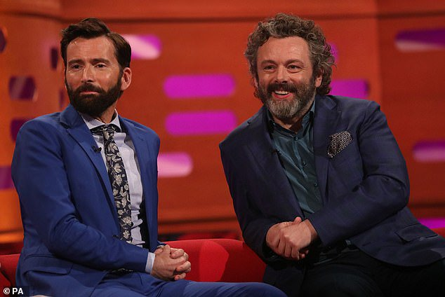 David Tennant and Michael Sheen on The Graham Norton Show - Thursday 30th May 2019