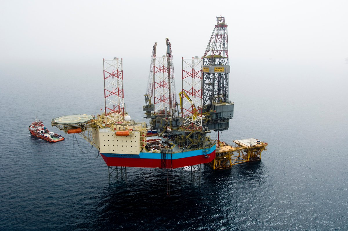 New contract! We are happy to announce that one of our R-rigs will be working in the Danish North Sea again when #MaerskResilient starts drilling the Jill #exploration #well for Hess. The work is expected to commence in September this year, with an estimated duration of 35 days.